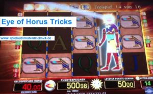 Eye of Horus Tricks