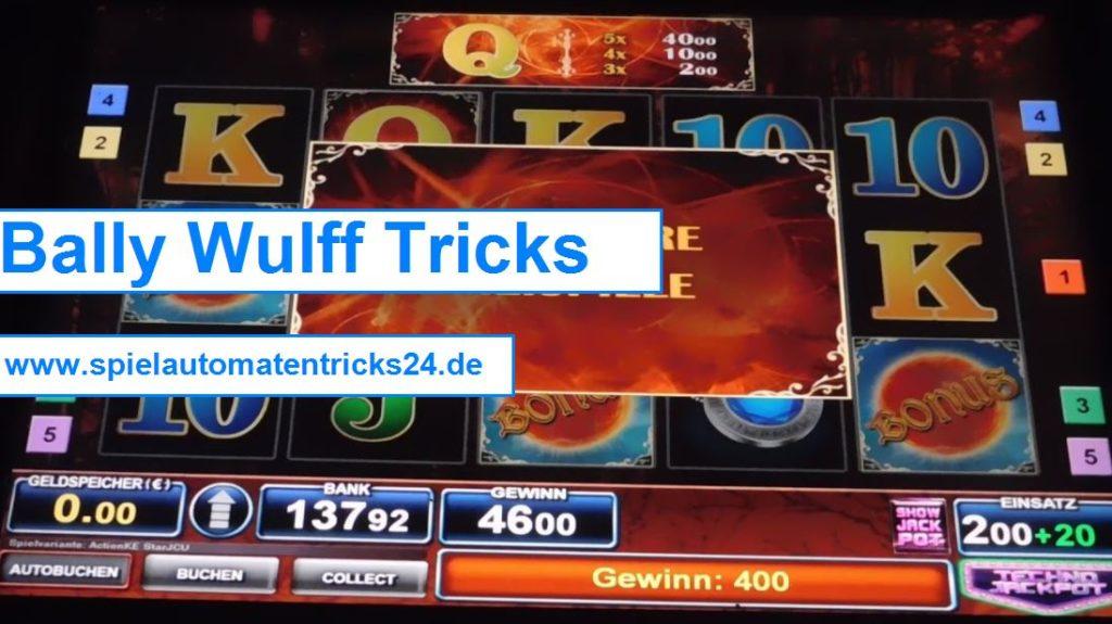 Bally Wulff Tricks