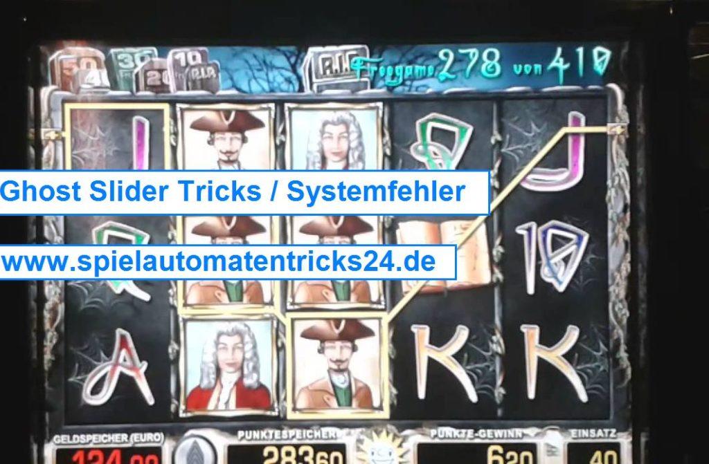 Ghost Slider Tricks