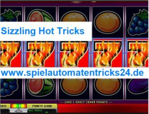 Sizzling Hot Tricks