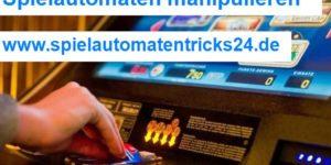 Spielautomaten manipulieren