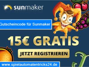 Gutscheincode Sunmaker