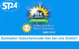 Sunmaker Gutscheincode 2018