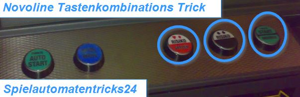 Novoline Tastenkombinations Trick