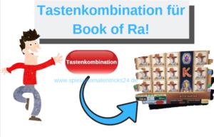 Tastenkombination Book of Ra