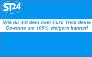 Spielautomaten zwei Euro Trick