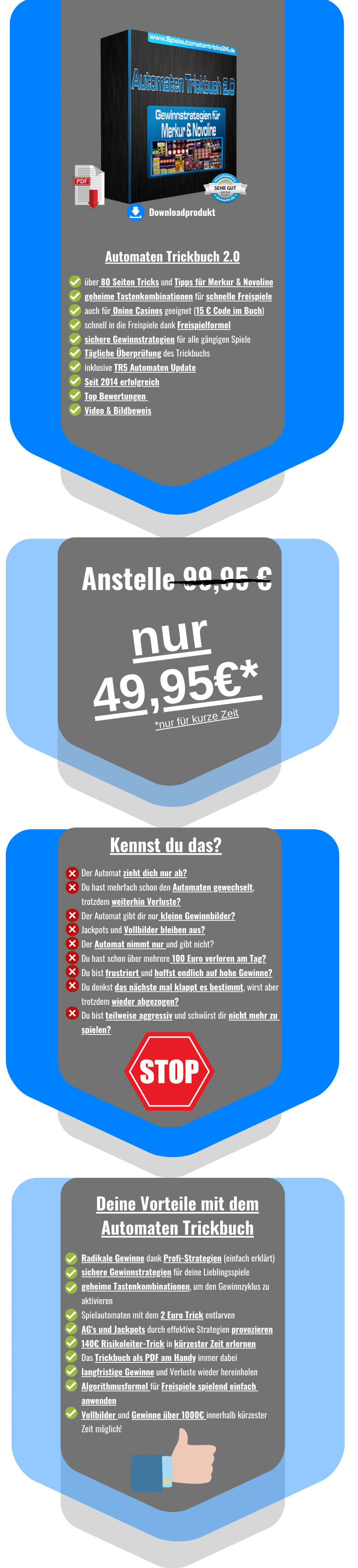 Automaten Trickbuch 2.0 Spielautomatentricks24